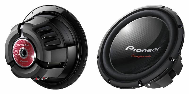 Pioneer Sub TS-W310D4