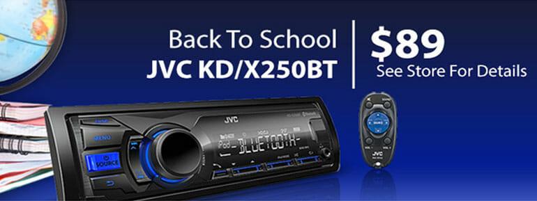 JVC KD/X250BT
