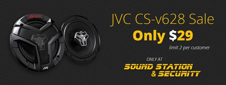 JVC DRVN Speakers CS-v628 Speakers for $29