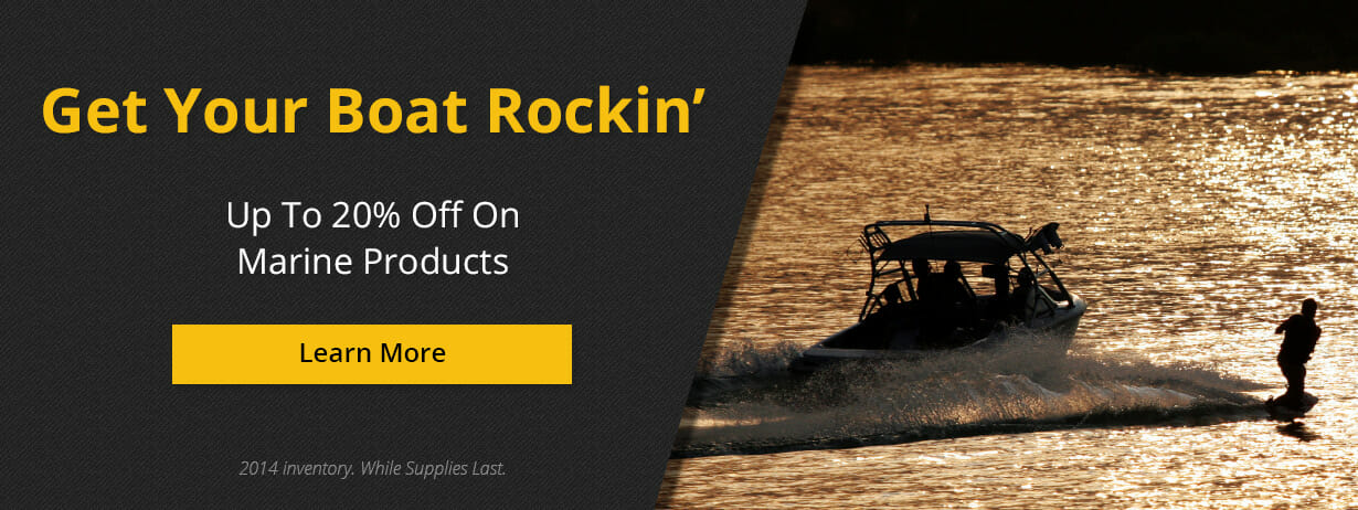 Up To 20% Off On Marine Products