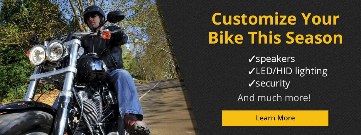 Customize Your Bike This Season