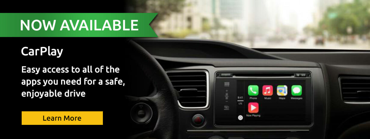 Apple CarPlay Now Available