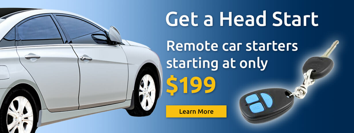 Remote Car Starters Starting at Only $199