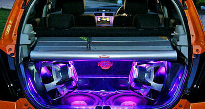 Car Audio Trunk