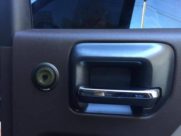custom audio on door panel sound station security