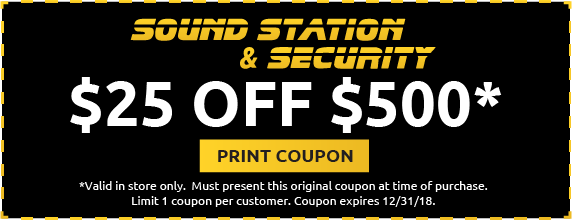 Sound Station Security Coupon